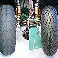 V-max 福岡県 Y様 タイヤ交換 リアタイヤ170mm 1