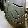 V-max 福岡県 Y様 タイヤ交換 リアタイヤ170mm 2