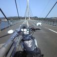 V-maxで鷹島大橋