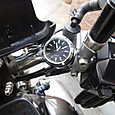 V-max バイク時計