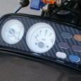 V-max メーターパネル ブラックカーボン調