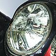 180Φ リフレクターヘッドライト デイライト取り付け例